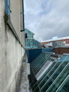 window cleaner halesowen abseiling