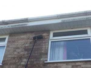 Gutters being cleaned in Dudley